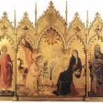 Simone Martini. L'Annonciation - JPEG - 12.1 ko